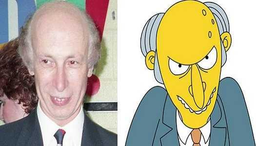 Mr. Burns – The Simpson