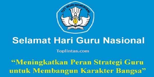 Peringatan Hari Guru Nasional