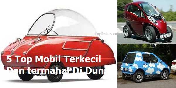 Jenis Mobil Terkecil Di Dunia