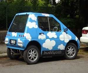 Mobil Terkecil ElBil Norge Buddy Cab