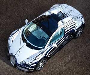 Replika Bugatti Veyron Terbuat Dari Alumunium