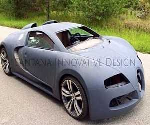 Replika Bugatti Veyron Terbuat Dari Pontiac GTO 2004