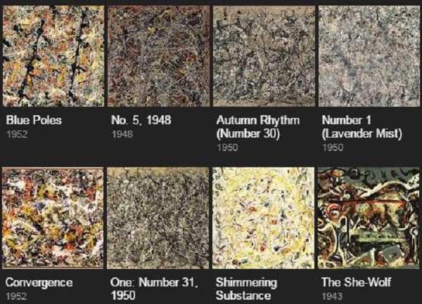 Karya seni Paul Jackson Pollock