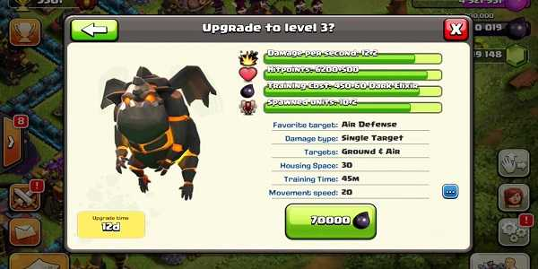 Strategi Upgrade Lava Hound
