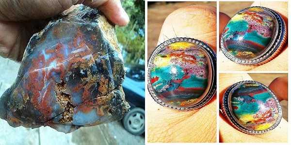 Batu Akik Klawing Pancawarna, Harga dan Khasiatnya | Top