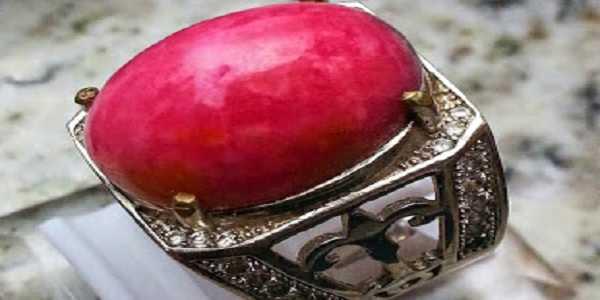 Batu Cincin Red Borneo