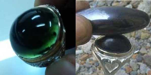Bentuk Black Jade Dengan Batu Badar Besi