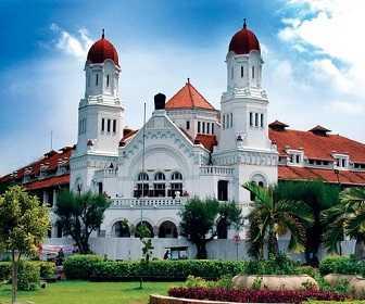 Tempat Wisata Di Jawa Tengah - Lawang Sewu di Semarang