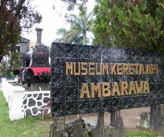 Tempat Wisata Di Jawa Tengah - Museum Kereta Api Ambarawa