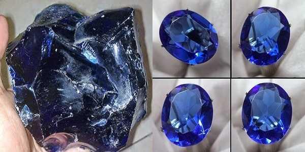 Batu Akik Obsidian