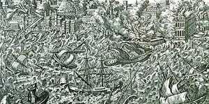 Tsunami Lisbon Portugal 1775 M