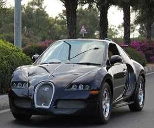 Replika Bugatti Veyron Mini Terbuat Dari Supercar