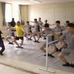 Tentara Korsel Latihan Balet