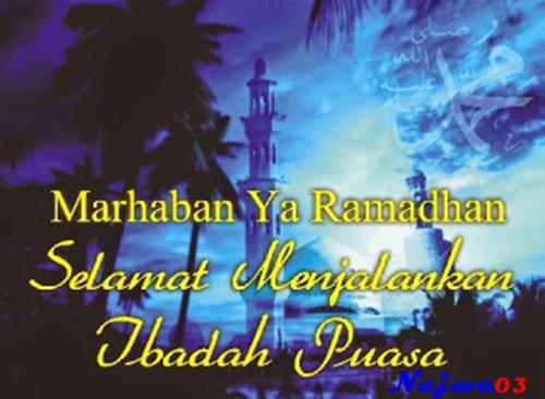 Kata Ucapan Selamat Menyambut Puasa Bulan Suci Ramadhan 1439
