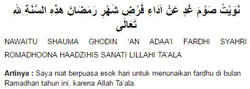 Bacaan Niat Dan Doa Buka Puasa Ramadhan Sebulan Yang Benar Top Lintas