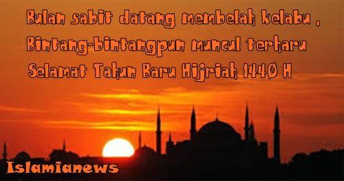 Ucapan Kata2 Selamat Tahun Gres Hijriah 1 Muharam 1440 Sedih