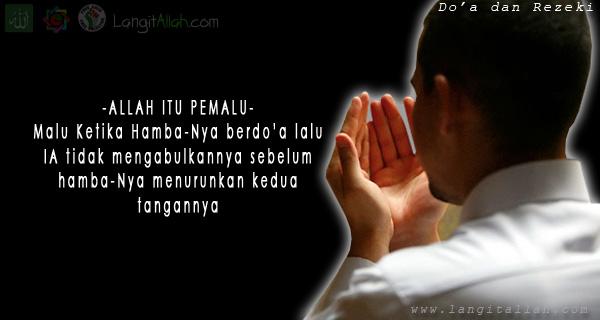 Setiap insan yang lahir telah ditetapkan rezeki nya masing 4 Doa Mustajab Pembuka 8 Pintu Rezeki