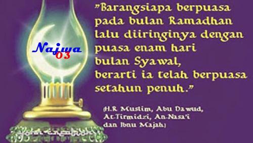 Keutamaan Puasa Enam hari bulan Syawwal  Keutamaan Dan Hikmah Puasa 6 Hari Bulan Syawwal Setelah Ramadhan