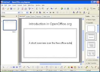 Program pengolah presentasi atau presentation agenda ialah agenda yang dibentuk khusus un Program Pengolah Presentasi Alternatif OpenOffice.org Impres