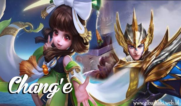 resmi dirilis di server global ahad kemaren Hero Chang'e Mobile Legends,  Hero Terbaru Adik Asuh Zilong