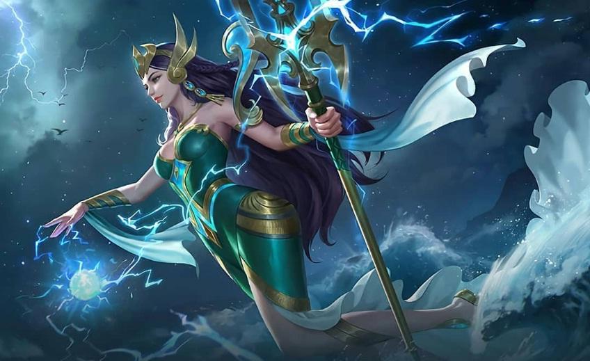 Setelah sebelumnya pihak Moonton merilis pendekar  Hero Kadita Mobile Legends, Hero Baru Mirip Nyi Roro Kidul