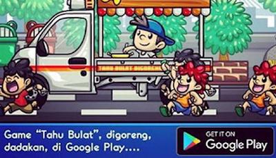 Siapa sih yang tidak ingat dengan game unik nan fenomenal Tahu Bulat Wow! Game Tahu Bulat Raih Penghargaan Tingkat Asia