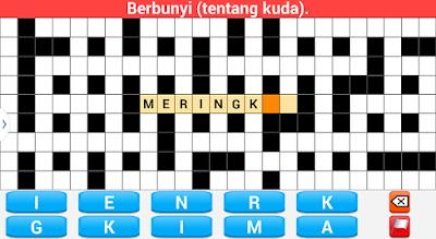 merupakan sebuah permainan klasik ataupun jadul yang telah ada semenjak usang 4 Game Android Teka Teki Silang Versi Indonesia