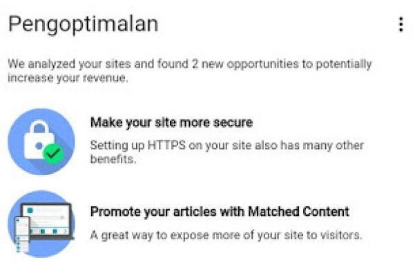 atau konten yang sesuai merupakan salah satu fitur iklan di Google Adsense Cara Pasang Iklan Konten yang Sesuai/Matched Content Adsense Pada Blog Anda