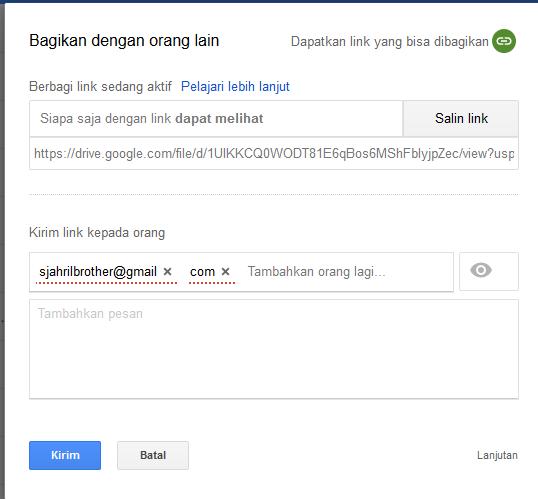 Cara Sharing File Memakai Google Drive Menyerupai File Document Presentation Spreadsheet Form Drawing Dan Map Top Lintas