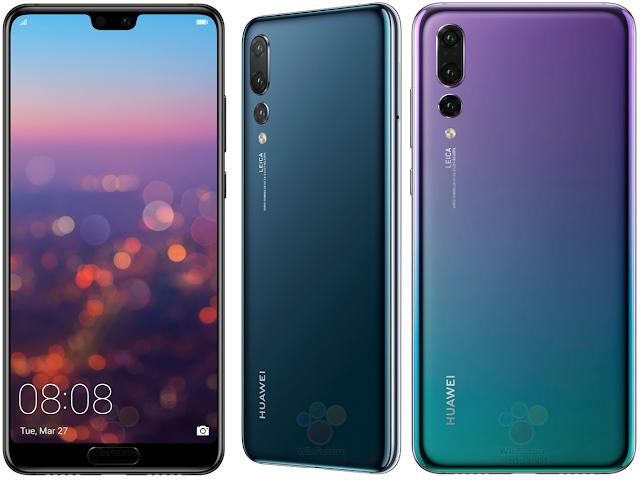 merupakan salah satu vendor smartphone asal Tiongkok yang berhasil menduduki peringkat  Huawei P20 Pro dengan 3 Kamera Belakang