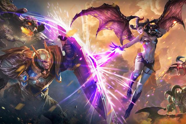 Bermain game dengan genre moba memang sangat menyenangkan Cara Menaikan Rank Match di Arena of Valor
