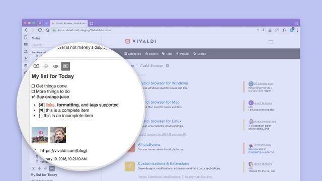 baru ini mendapat update pertamanya di tahun  Vivaldi Browser Versi Terbaru
