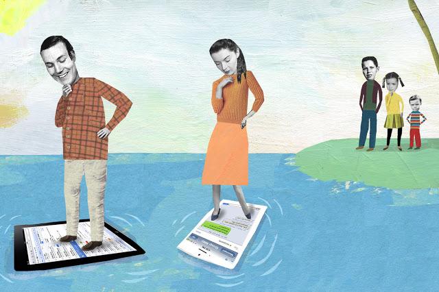 dikala ini sudah menjadi kepingan penting dalam kehidupan kita sehari Ilustrasi Orangtua Lebih Memilih Ponsel Daripada Anaknya