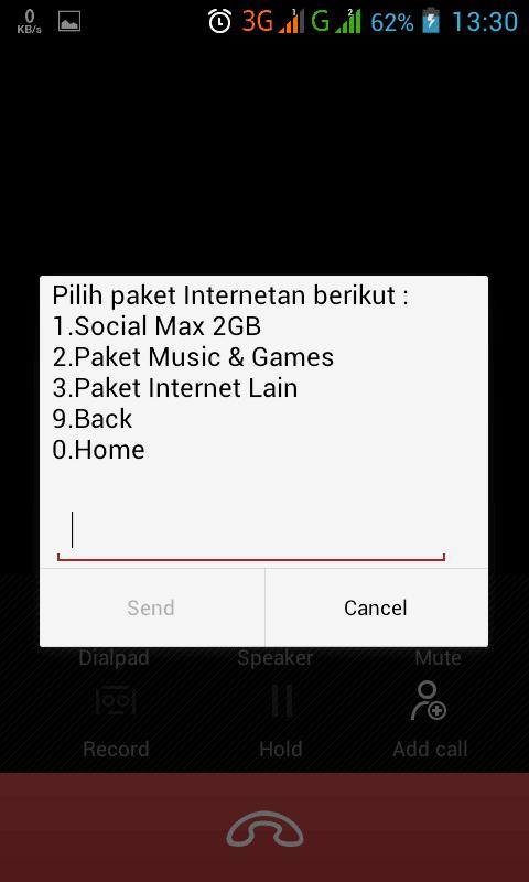 ini merupakan solusi paket internet bagi pelanggan yang kebetulan kehilangan paket Rame I Paket Internet Murah Telkomsel 3GB