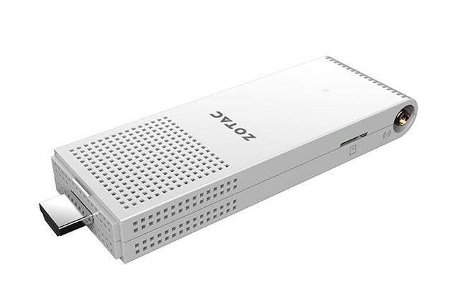 Zotac turut meramaikan tren mini PC dengan wujud flashdisk  Zotac ZBOX PI220 PC Seukuran Flashdisk